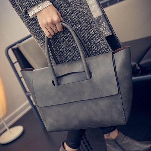 Reine Farbe Weibliche Weibliche Tasche Einfache Paket Mode Umhängetasche,B Ein