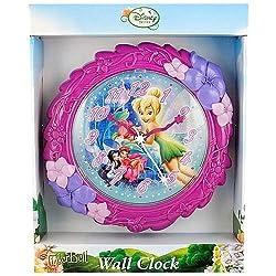 Disney Tinkerbell Fairies Wall Clock, 8H