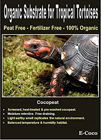 E-Coco Products UK TROPICAL TORTOISE BEDDING, SUBSTRATE