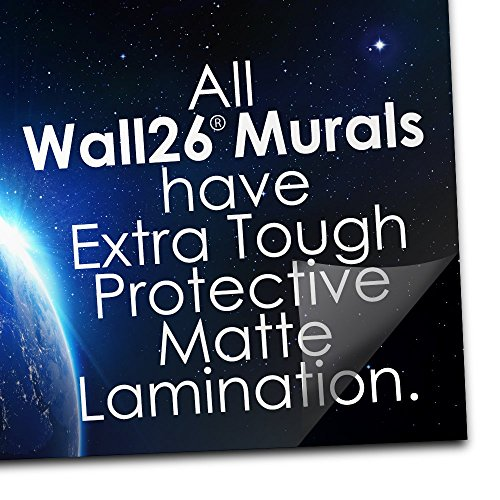 wall26 Fragment of an Old Brick Wall Background - Removable Wall Mural | Self-Adhesive Large Wallpaper - 100x144 inches by wall26 (Image #3)