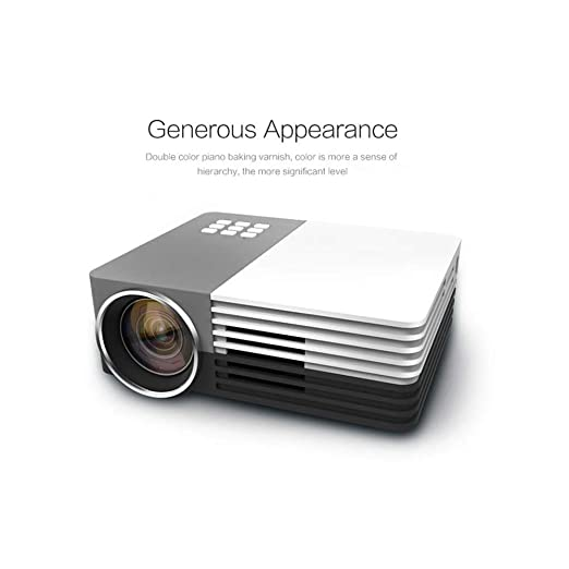 Aiyoudemutou Mini proyector, 1500 Home Theater Systems LuxHD 1080P ...