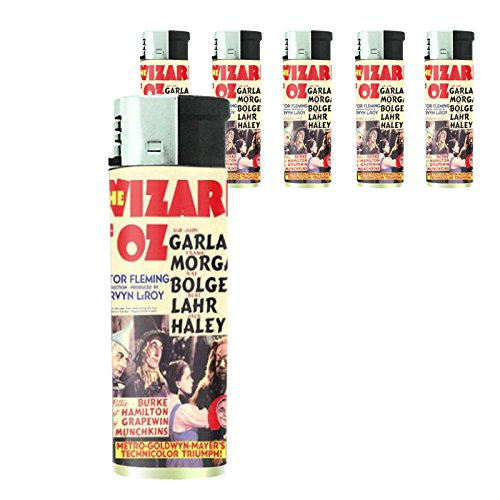 (Wizard Of Oz 1939 Judy Garland Lighter Set of 5 Pieces)