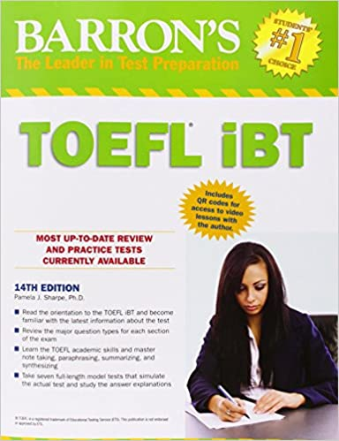 Buy barrons toefl ibt with cd rom book online at low prices in buy barrons toefl ibt with cd rom book online at low prices in india barrons toefl ibt with cd rom reviews ratings amazon fandeluxe Images