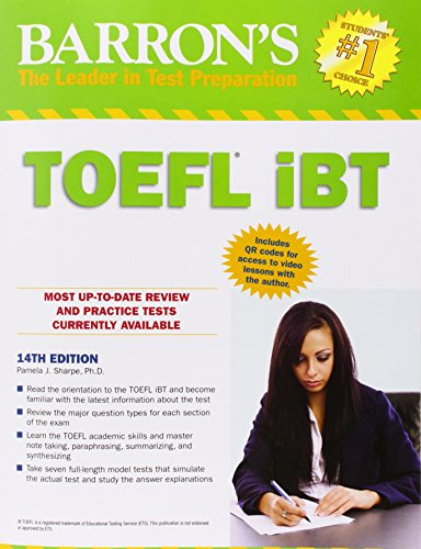 Ebook Barron's TOEFL iBT, 14th Edition [P.P.T]