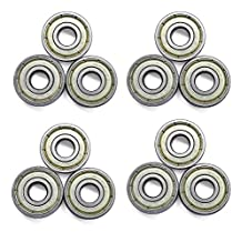 16-Count 608 Bearings ABEC-7 Skate Bearings