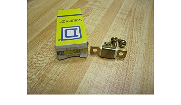 NEW SQAURE D  A9.25  OVERLOAD HEATER