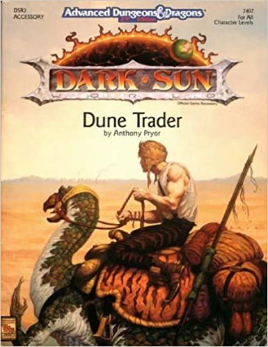 Téléchargement gratuit de la base de données de livres Dune Trader (AD&D 2nd Ed, Dark Sun Setting Accessory DSR2) by Anthony Pryor (May 19,1992) B01B98RGV2 in French PDF RTF