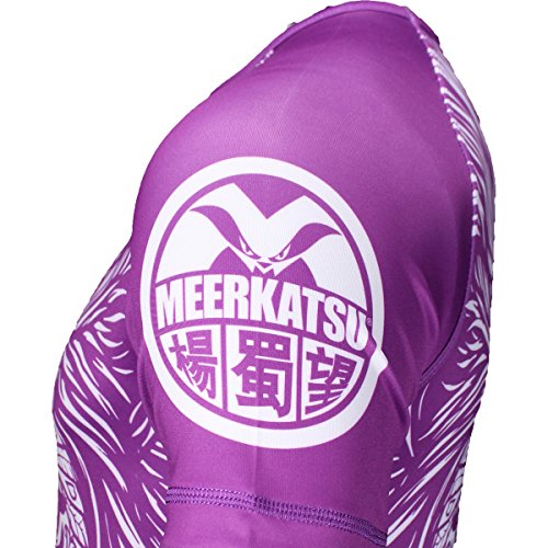 Meerkatsu Ranked Rashguards - Purple - X-Large