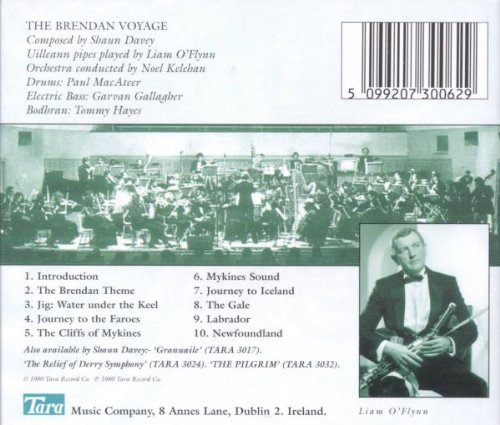 The Brendan Voyage: An Orchestral Suite for Uilleann Pipes