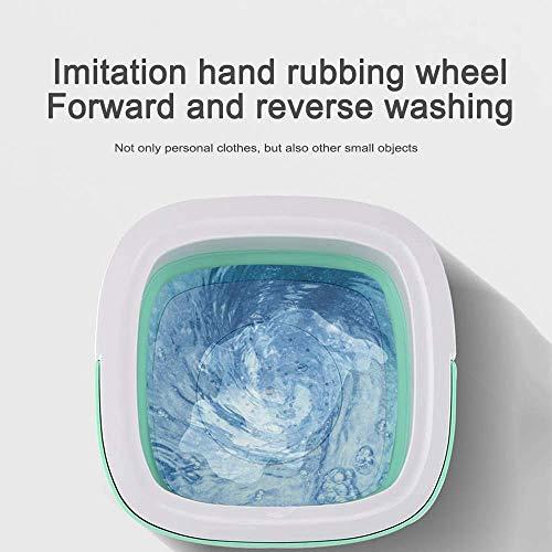 Deoxys Portable Washing Machine, Mini Foldable Washing Machine with Handle,Ozone Sterilization,Ultrasonic Cleaning Machine, Small Automatic Underwear Folding Washing Machine Laundry Capacity 51V XqdIwbL India 2021