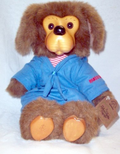 "Robert Raikes Original Doll Puppy Dog ""Jasper"" Limited Edition Applause 1992 Wooden Face"