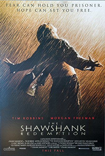 Shawshank Redemption Movie Poster US Version 24x36