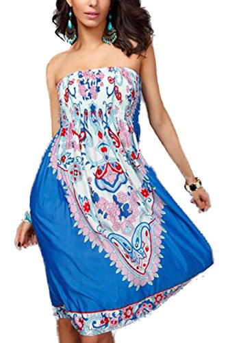 Womens One Piece Dress - 4