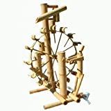 Bamboo fountain, water game, watefall, handmade, imported from Thailand (12033)