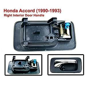 Right front interior door handle fit for honda accord 1990 1991 1992 1993 oem for 1993 honda civic interior door handle