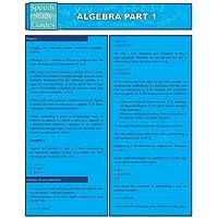 Algebra Part 1 (Speedy Study Guides: Academic)