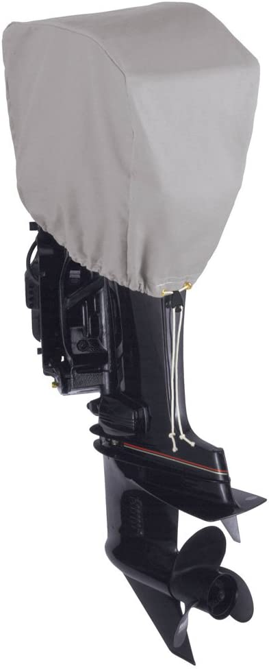 Dallas Manufacturing Co. Motor Hood Polyester Cover 2-15 hp - 25 hp 4 Strokes Or 2 Strokes Up to 50 hp