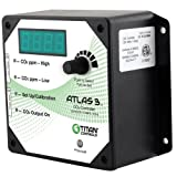 Titan Controls 702608 Atlas 3 Day and Night Carbon Dioxide Gas Monitor and Controller