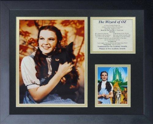 """Legenden Sterben Nie """"Der Zauberer von Oz Dorothy Farbe gerahmtes Foto Collage, 11 x 35,6 cm von Legends Never Die"""