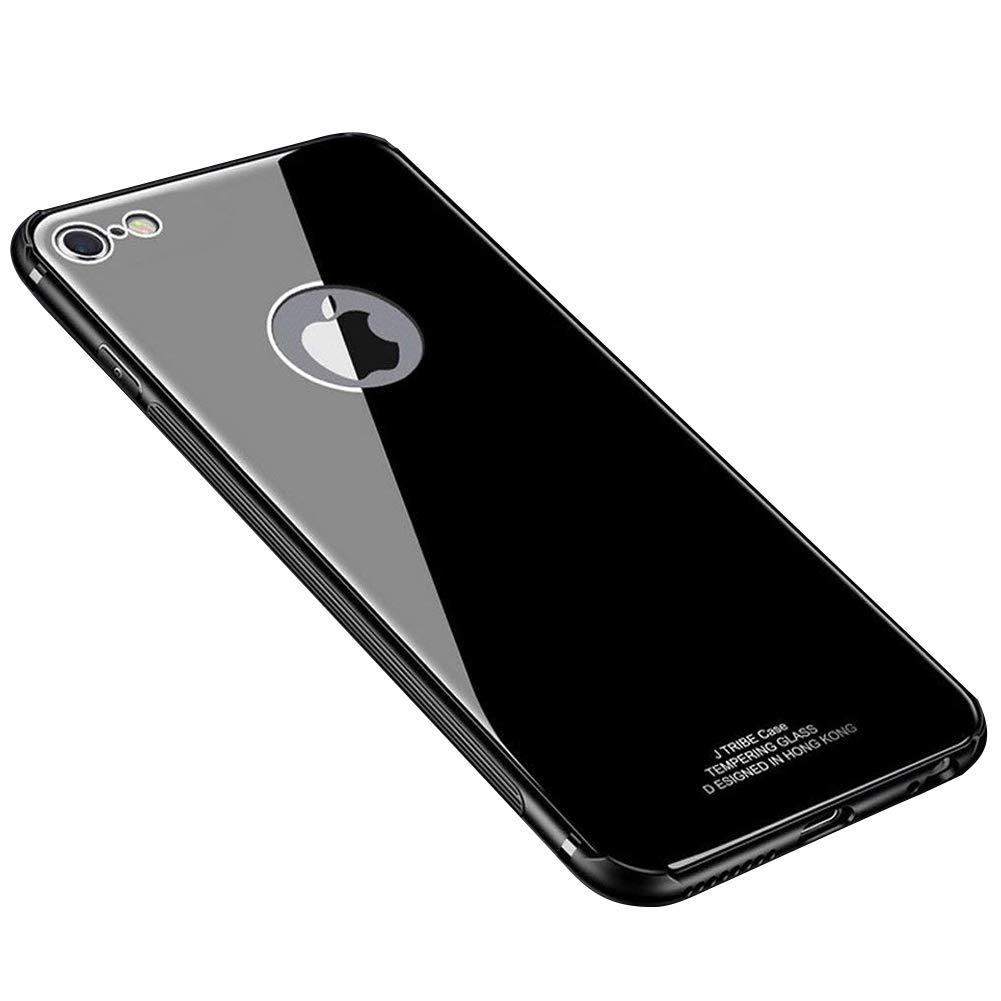 Cover iPhone 6 plus/iPhone 6S plus, Custodia iPhone 6 plus/iPhone 6S plus, MoreChioce Cristallio Ultra sottile TPU Bumper edge Vetro Temperato Defender Backcover, Antigraffio ammortizzante anti-impronta antiscivolo protezione funzionale copertura in silico