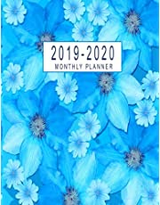 2019-2020 Monthly Planner: 2019-2020 Monthly Calendar At A Glance | 24 Months Calendar 2019-2020 Planner Federal Holidays Marked | 2019-2020 Academic Planner | Monthly Calendar Schedule Organizer Agenda Planner | 2019-2020 Monthly Planner 8.5 x 11 January - December