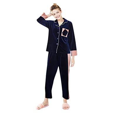 Pijama para Mujer 2 Piezas, Moda y Generoso, Mujer Invierno Ropa ...