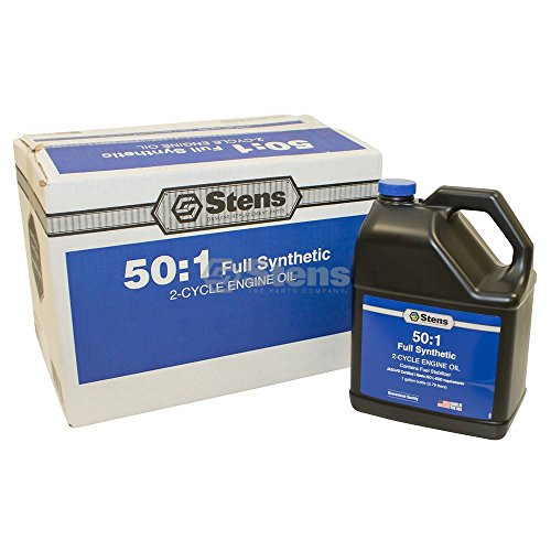 Stens Full Synthetic 50:1 2-Cycle Engine Oil Mix / 1 Gal. Bottle/4 Per Case
