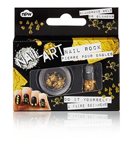 Kole Skulls & Studs Do It Yourself Nail Art Kit, 1 Ounce (Skull Makeup Kit)