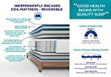 Signature Sleep Contour 8 Inch Reversible Independently Encased Coil Mattress with CertiPUR-US certified foam, Twin Variant Image