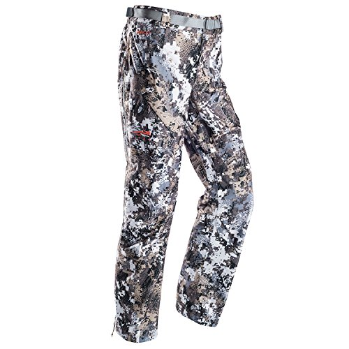 SITKA Gear Womens Downpour Pant Optifade Elevated II Small