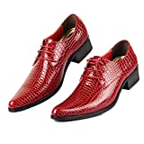 Phil Betty Mens Oxfords Shoes Flats Lace-Up Fashion Casual Formal Shoes