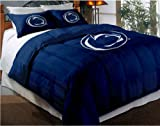 The Northwest Company Officially Licensed NCAA Penn State Nittany Lions Twin/Full Size Comforter with Sham Set