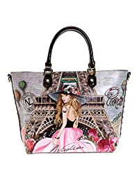 Nicole Lee Bolsa Tote VIVIAN DREAMS PARIS estampada