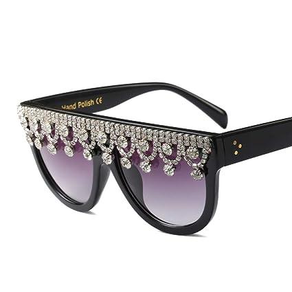 Amazon.com: Z&HA Gafas de sol para mujer, marco grande ...