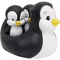 Brinquedo Para Bebe Pinguim Mae Para Banho Pais E Filhos  pacote de 01 Unidade