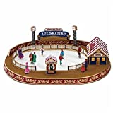 Mr. Christmas World's Fair Animated and Musical Carnival Ice Skating Rink #79869