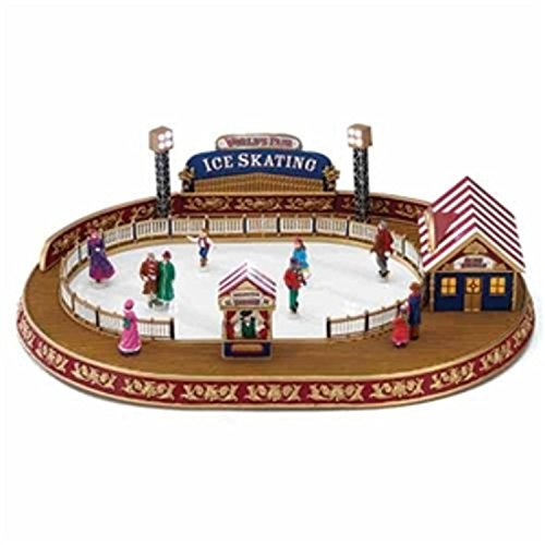 Mr. Christmas World's Fair Animated and Musical Carnival Ice Skating Rink #79869 by Mr. Christmas
