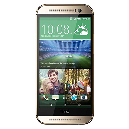 HTC HTC One (M8) M8x 16GB Gold - Unlocked Cell Phones - Retail Packaging - Gold by HTC