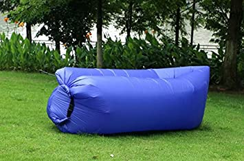 Cama de aire hinchable y portátil (funciona como tumbona, sofá,