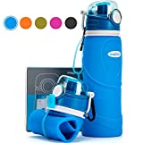 Best Collapsible Water Bottles - Collapsible Water Bottle 750ml / 26 fl oz Review