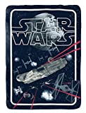 "Best Blanket Star Wars Blankets - Star Wars Classic Space Battle Flannel/Silk Touch 62"" Review"