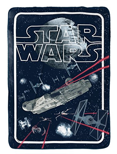 Star Wars Classic Space Battle Flannel/Silk Touch 62