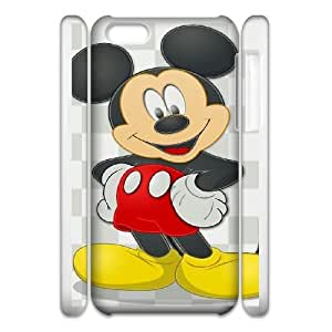 Protection Cover iphone6 4.7 3D Cell Phone Case White Zivyv Mickey Mouse Durable Rubber Cases