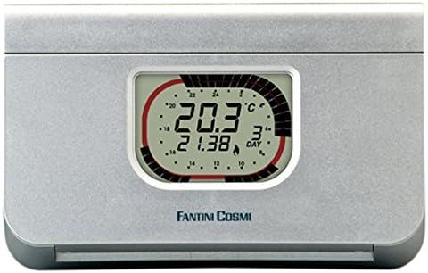 Plata FANTINI COSMI CH111/Termostato ambiente a pilas 3/temperaturas