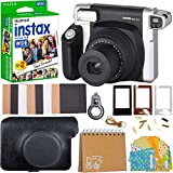 Fujifilm Instax Wide Instant Film for Fuji Instax Wide 210 200 100 300 Instant Photo Camera + 40 Assorted Colorful Pattern Stickers (Camera)