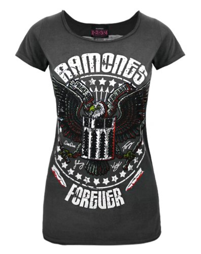Amplified Ramones Forever Women's T-Shirt (XL)