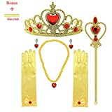 Toys : MISS FANTASY Princess Dress up Accessories Cosplay Jewelry Set Christmas Supplies Birthday Party Favor