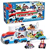 Paw Patrol 8 pcs Vehicles and Truck (Christmas Special Edition)