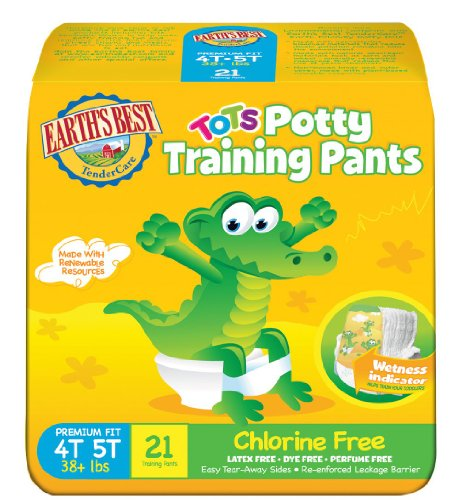 Earth's Best Training Pants - 4T-5T - 21 ct