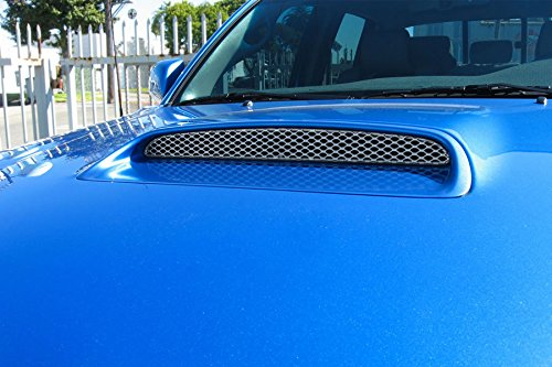 GrillCraft TOY1948S MX Series Silver Hood Scoop 1pc Mesh Grill Grille Insert for Toyota Tacoma (Tacoma Hood Scoop Insert compare prices)